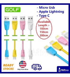 Golf Fast Charge Diamond Series King Kong Micro USB Apple Lightning Type C Cable