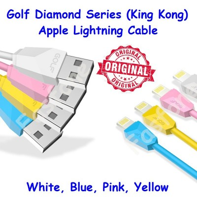 Golf Fast Charge Diamond Series King Kong Apple Lightning Type C Cable