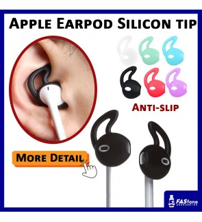 Silicon Ear Bud Hanger Cover for Apple Earpod Airpod 2 Tips