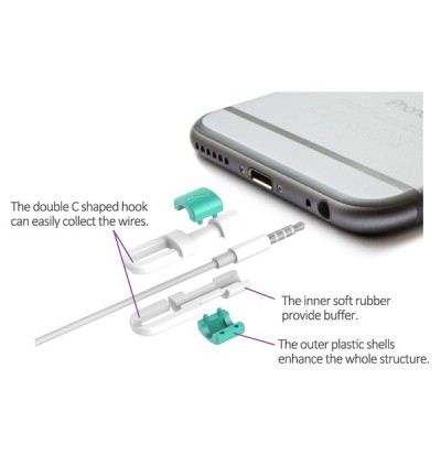 Cable Protector for Apple Lightning / Earpod [Buy 1 Free 1]