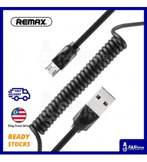Remax 2.4A Fast Charging Radiance Spring Micro Usb Apple Lightning Type C Cable