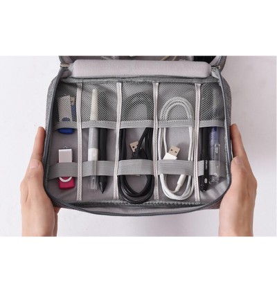 (M'sia Ready Stocks) Storage Bag Digital Bag Travel Organizer Bag Cable Charger