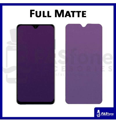 HUAWEI NOVA 5T 2I 3E 3 3I 4 Full Purple Light Tempered Glass HD Clear Matte