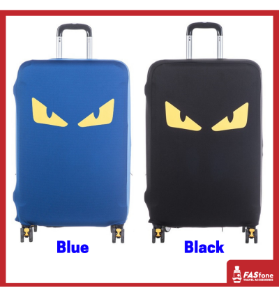 Luggage Protector Elastic Luggage Cover Luggage Suitcase Dust Proof DEVIL EYE