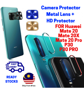 Huawei Mate 20 Mate 20X Mate 20 Pro P30 Pro P20 Pro Camera Ring Protector Lens