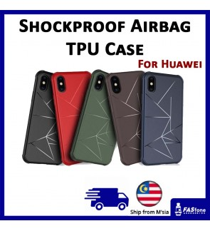 Huawei Nova 2i / Nova 3i / Nova 3 / P20 / P20 Pro Air Bag Anti Shock Proof Soft Case
