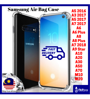 Samsung A3 A5 A7 2016 2017 A6 A8 Plus A9 Star 2018 A10 A20 A30 A50 A70 M10 M20 360 Anti Shock Air Bag Cover