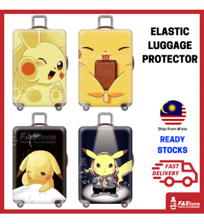 Luggage Protector Elastic Luggage Cover Luggage Suitcase Anti Scratch Dust Proof Pikachu