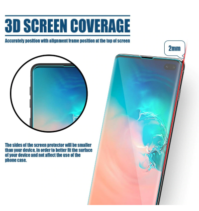 Matte Huawei Mate 20 30 Pro P30 Pro OPPO FIND X UV Light Full Glue Curved Tempered Glass
