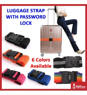 Luggage Strap Luggage Belt Luggage Cross Belt 200cm 2m Password Protect Quality