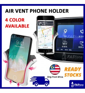 Car Phone Holder Universal U Type Air Vent Mount GPS Car Phone Holder
