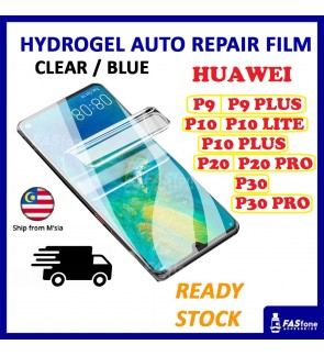 Huawei P30 Pro / P20 Pro / P10 Plus Lite / P9 Plus Hydrogel Soft Screen Protector Film Auto Repair Screen Full Cover