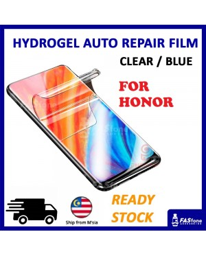Honor 8X 9 Lite 10 Note 10 20 Pro Lite View 10 20 PLAY Hydrogel Soft Screen Protector Film Auto Repair Screen Full Cover