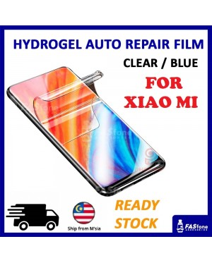 Mi Black Shark Hello CC9 8 9 SE Mix 2s 3 A1 A2 Lite Hydrogel Soft Screen Protector Film Auto Repair Screen Full Cover