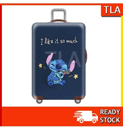 Luggage Protector Elastic Luggage Cover Luggage Suitcase Anti Scratch Dust Proof Lilo & Stitch Hello Kitty