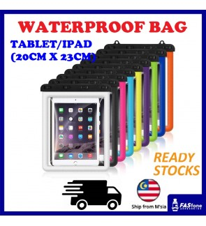 (2019 New) Waterproof Bag for iPad Mini Tablet Mediapad Samsung