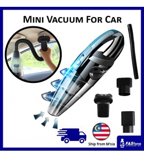 Car Vacuum Mini vacuum Cleaner Rechargeable vacuum Portable Handheld Household 120W USB