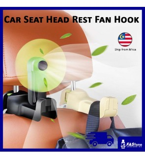 Car Fan Back Seat Hanger Head Rest Holder Pop Up Fan Hook Car Seat Head Rest Fan Hook