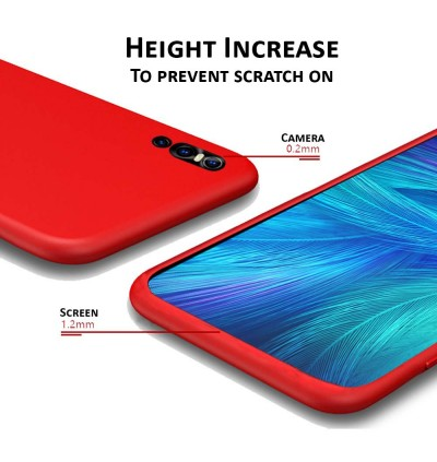 (Upgrade New) OPPO A5 / A7 / A9 / F11 / F9 / R9S / R17 PRO / RENO / RENO 10X ZOOM Liquid Silicone Back Case Back Cover
