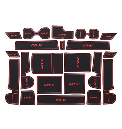 (M'sia Ready Stocks) Honda CRV Car Interior Slot Mat Storage Mat 2017 2018 2019