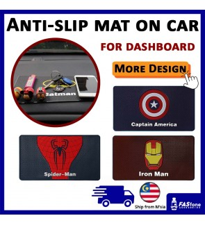 Superhero Marvel Design Car Dashboard Anti-slip Mat