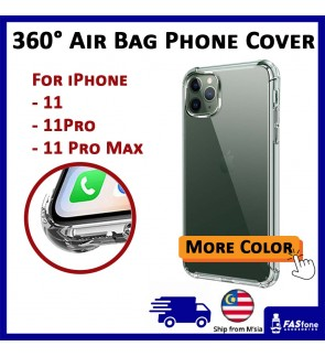 iPhone 11 11 Pro 11 Pro Max 360° Air Bag Anti Shock Crash Protect Case