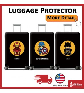 Luggage Protector Elastic Luggage Cover Luggage Suitcase Anti Scratch Dust Proof Batman Avenger Captain America