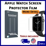 Apple Watch Series Full Screen Protector Series 1 2 3 4 5 Protective Film Curved 38mm 40mm 42mm 44mm