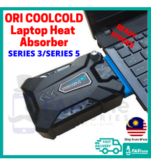 (ORIGINAL READY STOCKS) COOLCOLD Laptop Cooler Laptop Fan USB Portable Air Extract Suction SERIES 3 SERIES 5