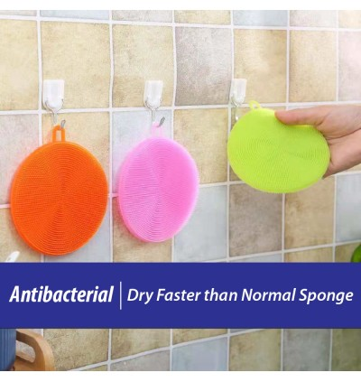 Silicone Dish Cleansing Brush Antibacterial Kitchenware