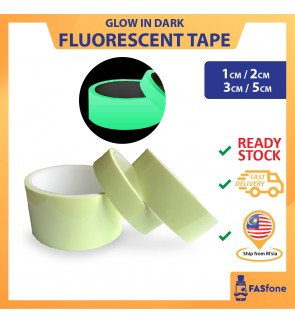 Glow In The Dark Safety Luminous Tape Fluorescent Phosphorescent Tape Stair Fall Prevention 5CM 3CM 2CM 1CM