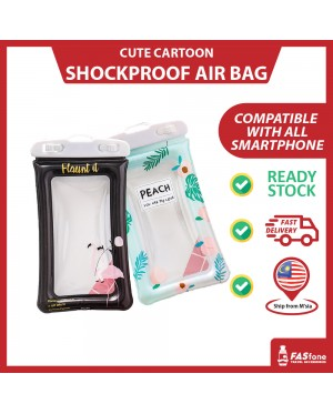 Cute Waterproof Shockproof Cartoon Air Bag for Mobile Phone Smartphone