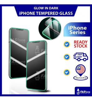 (Ready Stocks in Malaysia) iPhone 6 6s Plus 7 Plus 8 Plus X Xs Max XR 11 Pro Max Glow Tempered Glass Protector