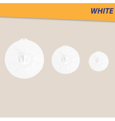 (ReadyStocks@Malaysia) 3 Pcs Silicone Lid Cover Reusable Kitchen Cover Bowl cover Plate Cover