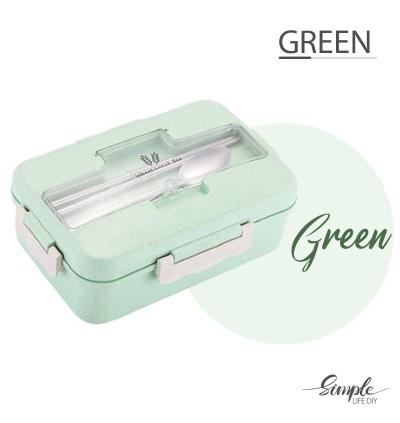 Korean Style Lunch Box Bento Box Cutlery Set Lunch Bag Aluminium Foil Microwave Container Thermal Simple Design