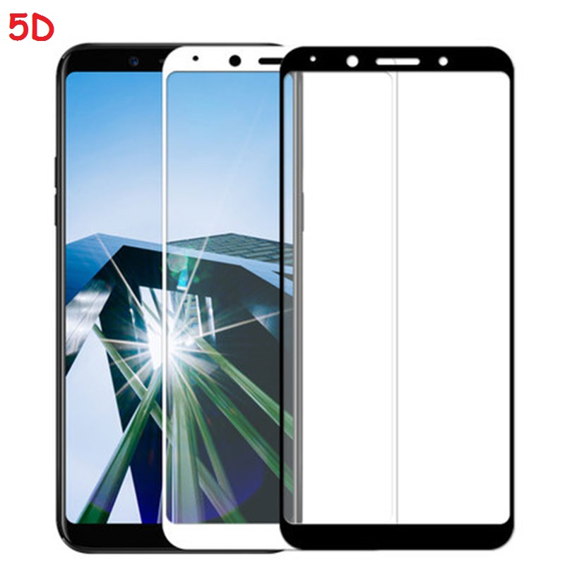 Oppo F5 F7 R9S R15 Pro A59 A83 Vivo V9 NEX 5D Full Cover Tempered Glass