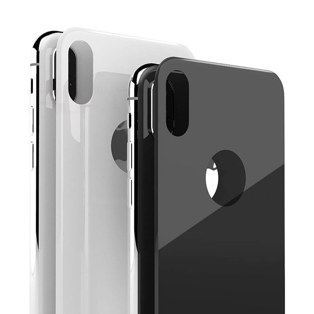Back Tempered Glass Protector for iPhone 8 Plus X