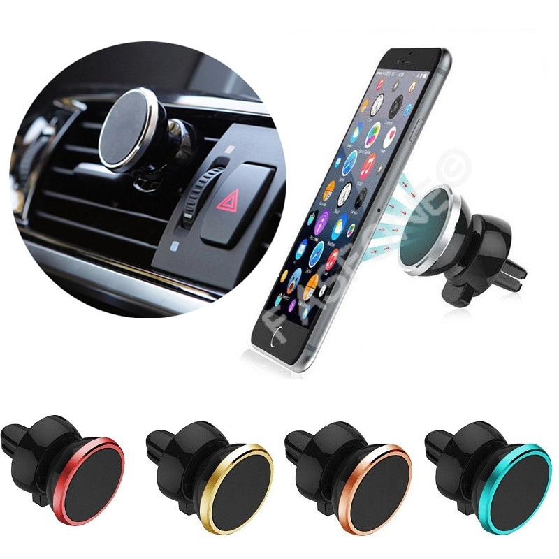 Magnetic Car Air Vent Holder for Devices (5 Colors)