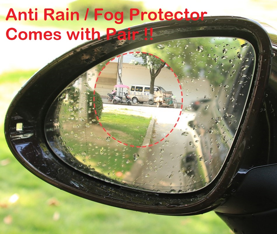 Car Rear view Mirror Protective Film Anti Fog Anti Rain Rainproof